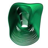 Forma abstrata de verde — Fotografia Stock