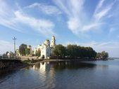 Nilo-stabinski klasztor na jeziorze Seliger — Zdjęcie stockowe