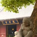 Buddhist Monk Statue In A Termple — Stock Photo #59848927