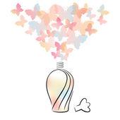 Parfumflesje — Stockvector