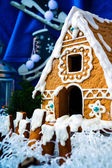 Gingerbread Christmas house — Stock Photo