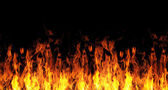 Abstract fire flame background — Stock Photo