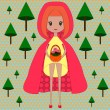 Red Riding Hood — Stock Vector #55867903