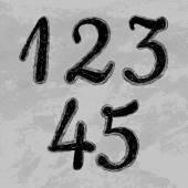 Verzameling van getallen — Stockvector