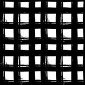 Geometryczne streszczenie wzór wykonany tuszem. — Wektor stockowy