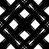 Black and white pattern made with ink — Stock Vector