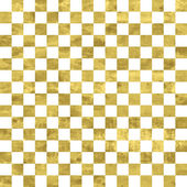 White and gold pattern — Stock Vector