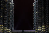 Petronas Towers - Kuala Lumpur Malaysia — Stock Photo