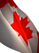 Flagge von kanada — Stockfoto