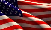 Flags serial USA, United States — Stock Photo