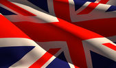 Flag of the United Kingdom — Stock Photo