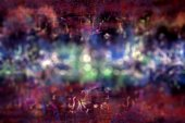 Art abstract with bokeh background — Stock Photo