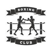 Logo klubu boks — Wektor stockowy