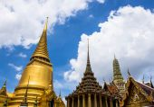 Architecture in the temple. — Foto Stock