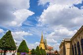 bright sky in temple — Stock Photo