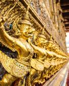 Garuda on temple wall  — Foto Stock