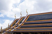 The roof of Temple  — Stock Photo