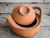 Clay pot pottery — Stock Photo