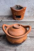 Traditional clay pots  — Stock Photo
