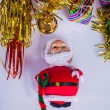Santa Claus gifts for distribution — Stock Photo #57357443