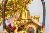 Bell hanging basket — Stock Photo