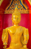 Buddha is worshiped — Stock Photo