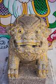 Statue in temple — Stock Photo