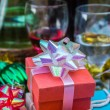 Red gift boxes — Stock Photo #58083457