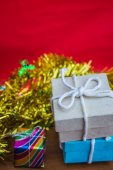 Gift box for the holiday — Stock Photo