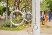 Iron hoops — Stock Photo