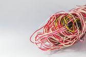 Wire old unused  — Stock Photo