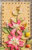 цветочные художественные оформления — Стоковое фото