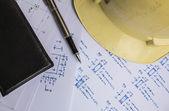 Plan work of engineers. — Stock Photo