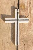 Wooden crosses — Foto de Stock