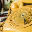Old-style rotary phone — Stock Photo #75198587