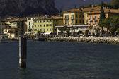 Garda lake waterfront — Stock Photo