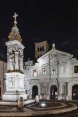 BasilicaSt. Bartholomew on the Island, Tiber Island, Rome — Stock Photo