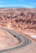 Road near San Pedro de Atacama — Stock Photo