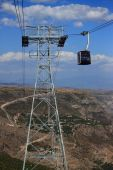 Cable car Wings of Tatev — Stock Photo