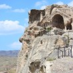 Cave ancient pagan city Uplistsihe — Stock Photo #57690745