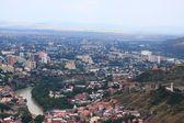 Aerial view of Tbilisi, Georgia — Stock Photo