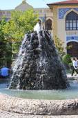 Interesting fountain in Konya, Turkey — Stock Photo