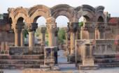 Ruins of Zvartnots near Yerevan — Stock Photo