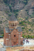 Beautiful Noravank monastery in Armenia — Stock Photo