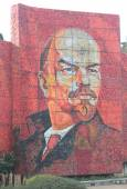 Vladimir Lenin 在索契,俄罗斯的马赛克肖像 — 图库照片