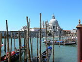 Grand canal in Venice,Italy — Stock Photo