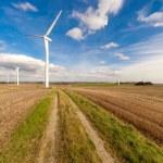 Wind turbine wind turbines wind energy wind power — Stock Photo #56086759