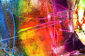 Abstract modern painting structure — Stock Photo