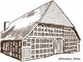Clueverhaus Achim — Vecteur