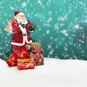 Santa claus - merry christmas — Stock Photo
